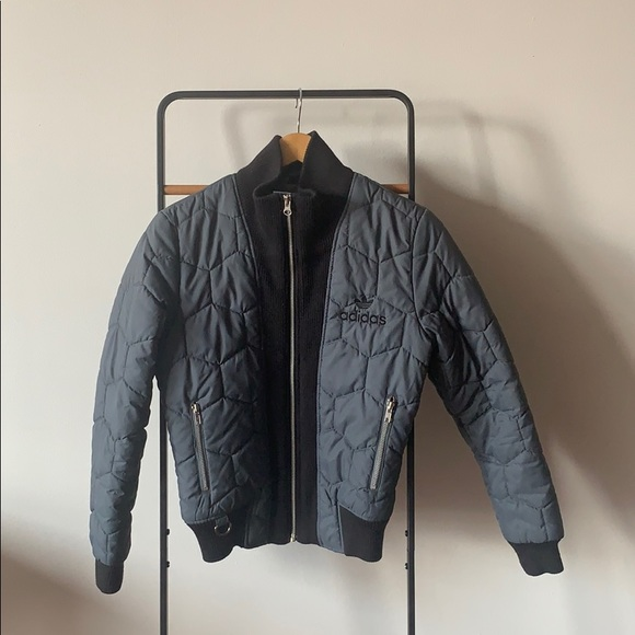 e442d558f Adidas Winter Cut Quilted Bomber